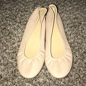 Cream colored flats